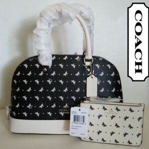 COACH BUTTERFLY BAG SET